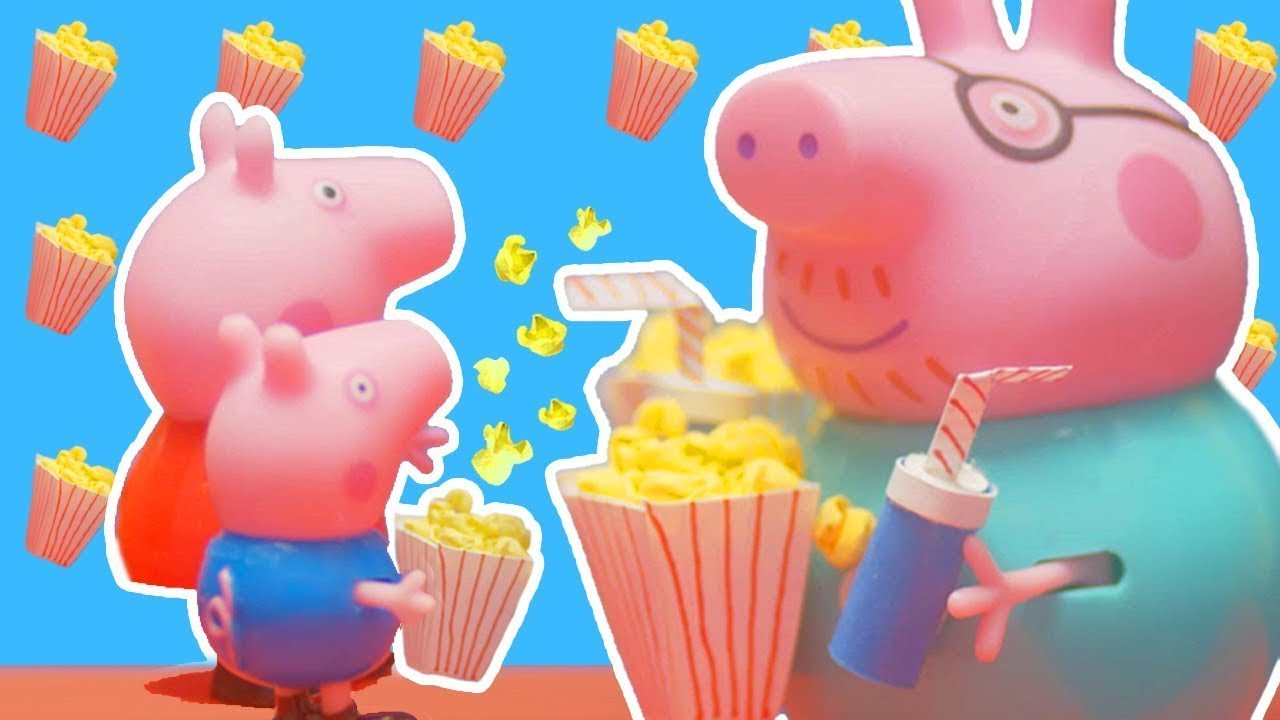 Peppa Pig Official Channel   Peppa Pig Stop Motion: Peppa Goes to Theatre    Peppa Pig Stage Playset