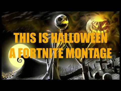 THiS iS HALLOWEEN   A FORTNiTE MONTAGE