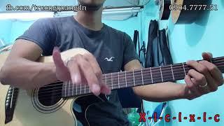 Bài 10: Hướng dẫn Guitar điệu Disco - bài Trở Về (Bức Tường)