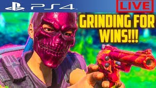 H1Z1 PS4 GRINDING FOR 100 WINS W/SUBS WINS=98 Today=0