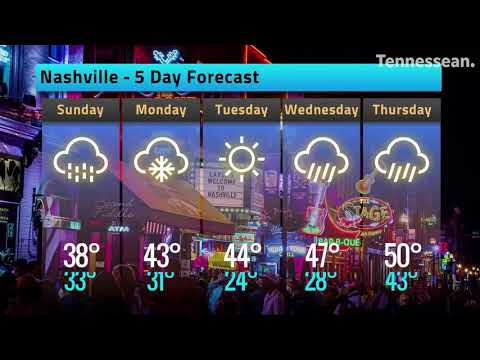 Tennessee Weather: Winter Advisory For Nashville Saturday Night