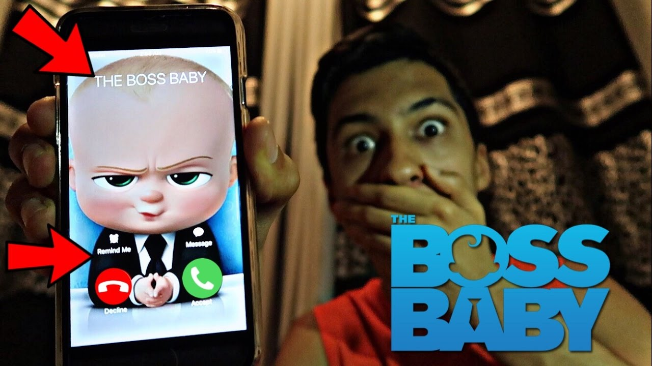 CALLING THE BOSS BABY *OMG HE ACTUALLY ANSWERED* - YouTube