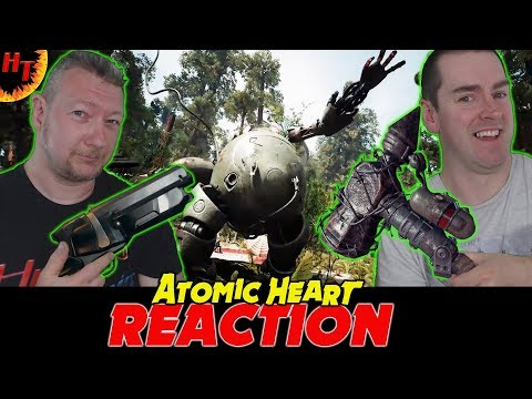 ATOMIC HEART - Exclusive Gameplay Trailer Reaction