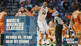 2018 March Madness: Nevada's thrilling overtime victory over Texas (FULL game)