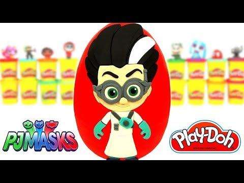Pijamaskeliler Romeo Sürpriz Yumurta Oyun Hamuru   PJ Masks Oyuncakları