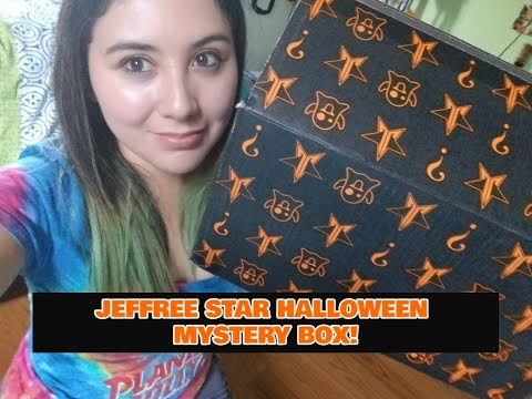 JEFFREE STAR HALLOWEEN MYSTERY BOX !!!! thumbnail