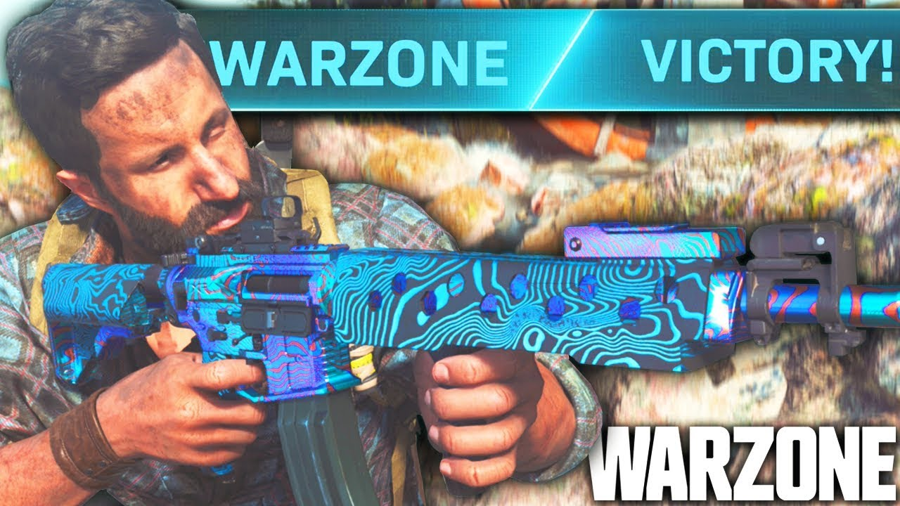 Call Of Duty WARZONE: The Overpowered M4A1/MP5 Loadout SHREDS! (Warzone Best Classes)