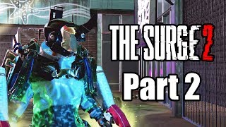 The Surge 2 (2019) PS4 PRO Gameplay Walkthrough Part 2 (No Commentary)