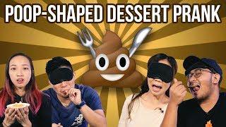 The Blindfolded Poop Dessert Prank