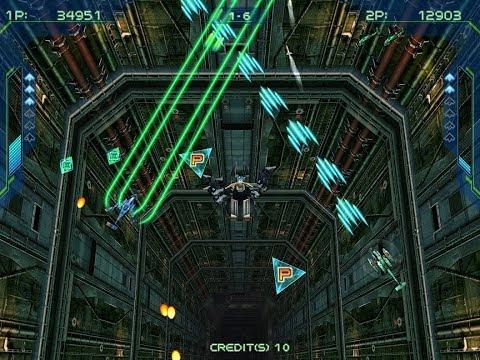 Zero Gunner 2 arcade 2 player 60fps