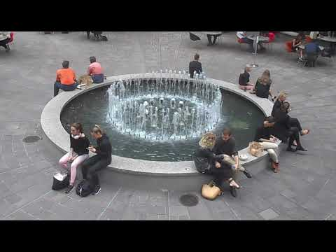 Australia Square Fountain, Sydney