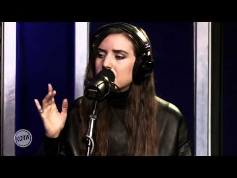 """Lykke Li performing """"No Rest For The Wicked"""" Live on KCRW"""