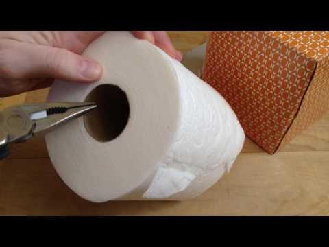Toilet Paper Tissue Life Hack 🧻