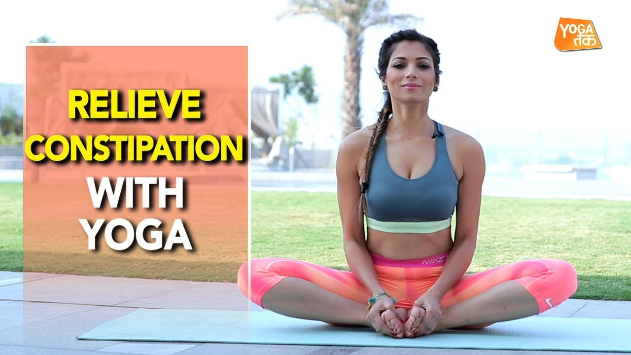 Yoga For Constipation Relief  Butterfly Pose  Yoga Tak