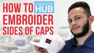 Embroidery Hub Ep. 11: How to Embroider Side of Hat | Hat Embroidery Tutorial