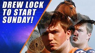 Broncos to Start Drew Lock (Definitely)