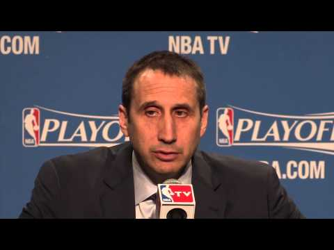 What David Blatt said after Game 1 as the Cleveland Cavaliers beat the Celtics