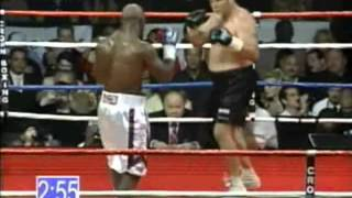 "Evander ""The Real Deal"" Holyfield vs Frans Botha - Heavyweight Contest - Part 1/2"