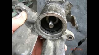 Переборка заднего тормозного суппорта LUCAS/TRW на примере Ауди А4 В5