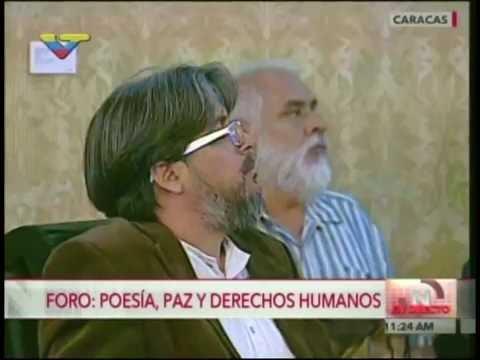 """Foro """"Poesía, Paz y Derecho Humanos"""" en la Casa Amarilla, 28 de junio 2016"""