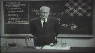 AT&T Archives: Dr. Walter Brattain on Semiconductor Physics