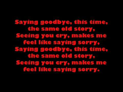 saying sorry by hawthorne heights ( with lyrics)