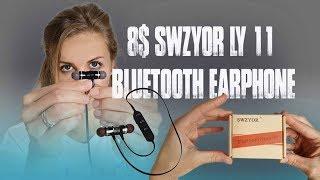 8$ Swzyor LY-11 Bluetooth Earphone Unboxing-Testing (Aliexpress)