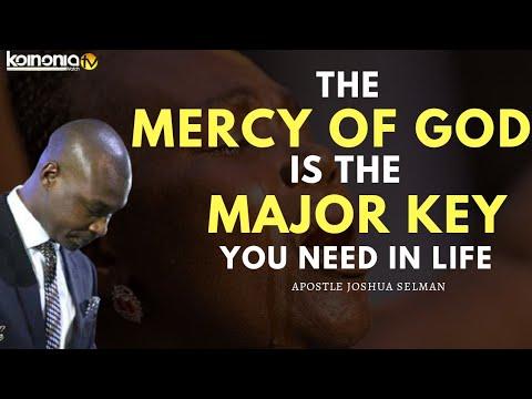 Download (POWERFUL SERMON😭😭) THE MERCY OF GOD IS ALL YOU NEED - Apostle Joshua Selman