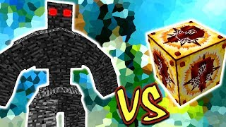 GOLEM GIGANTE DE BEDROCK VS. LUCKY BLOCK INCA (MINECRAFT LUCKY BLOCK CHALLENGE)