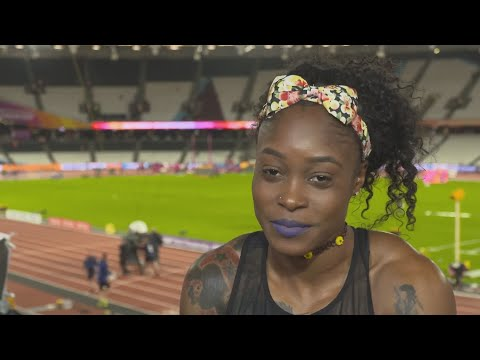 WCH 2017 London - Elaine Thompson JAM 100 Metres Final