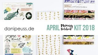 danipeuss.de Memory Notebook Kit | April 2018