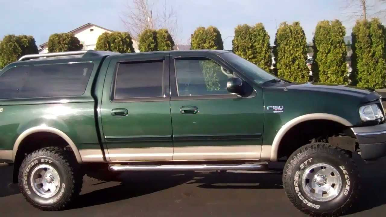 2001 ford f 150 crew cab xlt green enumclaw v2381a youtube