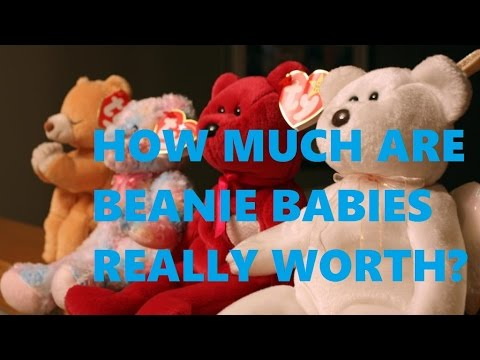 how much are beanie babies really worth youtube. Black Bedroom Furniture Sets. Home Design Ideas