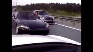 Crazy Driver !  Honda S2000 Drifting on Traffic ! Must See