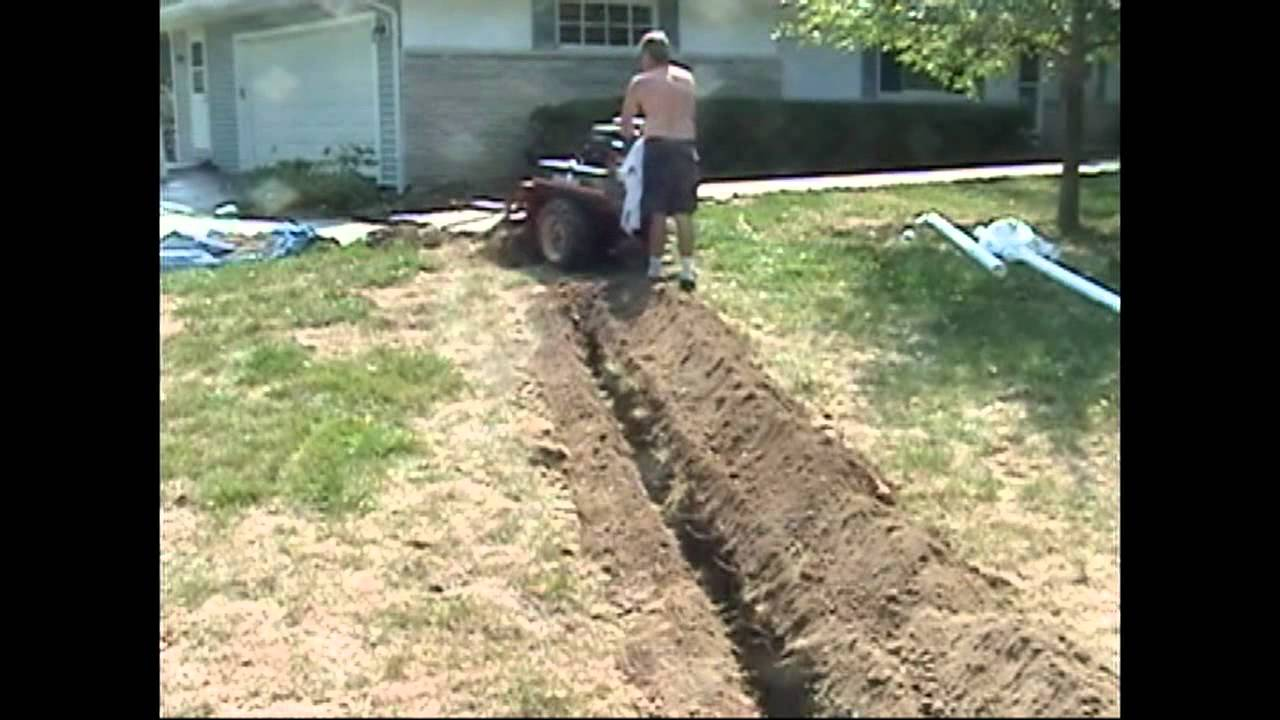 Atlantic Drain Howto Install New Underground Downspout