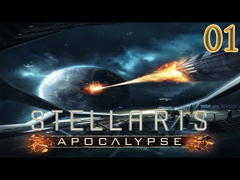 Let's Play Stellaris Apocalypse Valdari Citizen Union Part 1