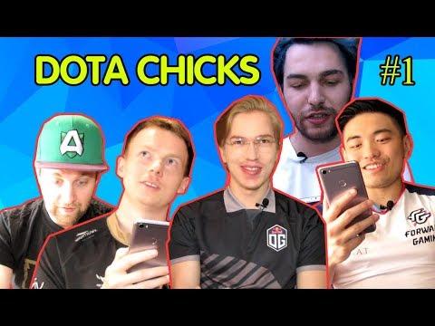 Dota Chicks #1 (Topson, ppd, Loda, Sneyking, CrystalMay)
