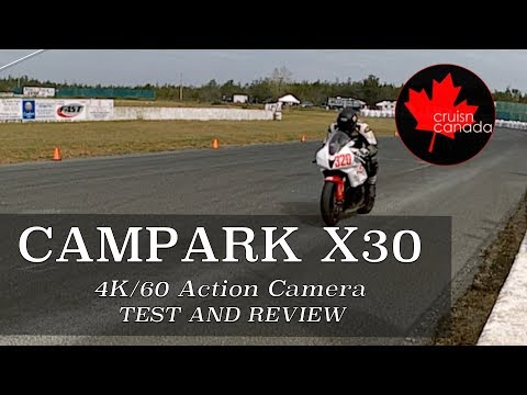 Campark X30 Action Camera Unboxing, Test and Review