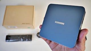 Scishion AI One Android 8.1 TV Box - Glacier Blue ICE - OREO TV BOX