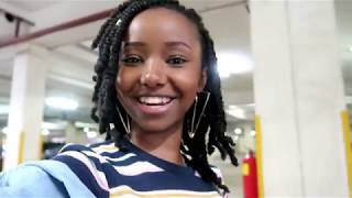 VLOG: CHARITY WORK, GOOD FOOD & INTERVIEWS // Wabosha Maxine