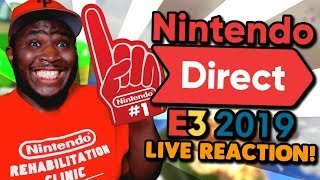 Nintendo Direct @ E3 2019 LIVE REACTION!