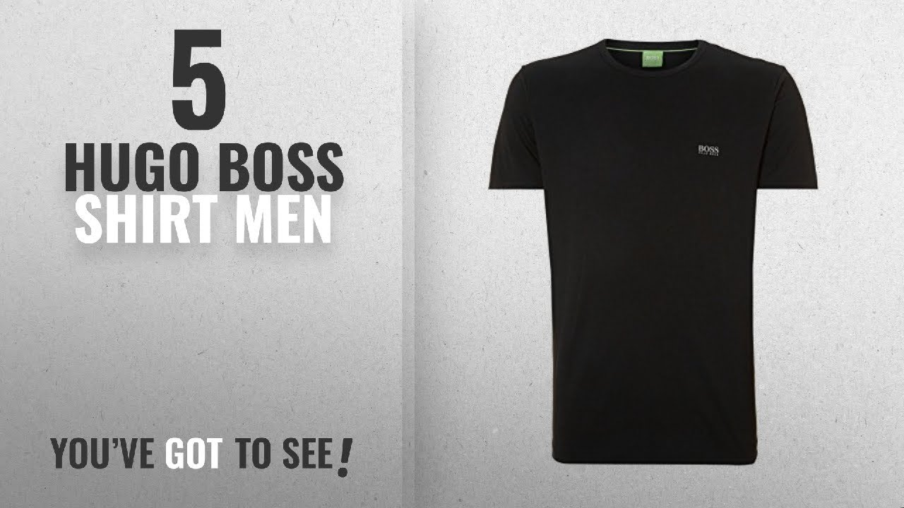 e4cf0f7b8 Top 10 Hugo Boss Shirt Men [2018]: Hugo Boss - Men's Crew T Shirt ...
