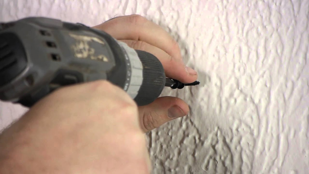 How to use a drill to hang a picture nails screws wall how to use a drill to hang a picture nails screws wall hangings youtube amipublicfo Image collections