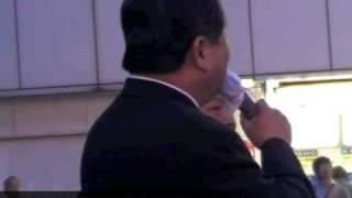 【中川秀直】中野駅頭「埋蔵金、我々がいってきたとおりになった」 中川秀直 検索動画 28