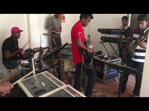 Practice Time Fire Range Dambulla Sri lanka (Nyare piyanagala) music band practise sri lanka