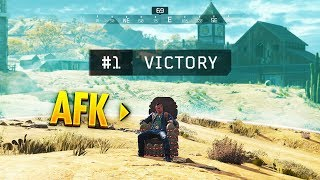 He Won While AFK... (Blackout WTF & Funny Moments #193)