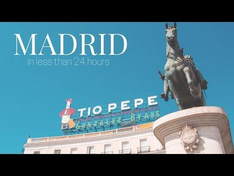 Madrid Spain Travel Vlog (Beautiful Airport, Puerta del Sol, Plaza Mayor, Palacio Real)