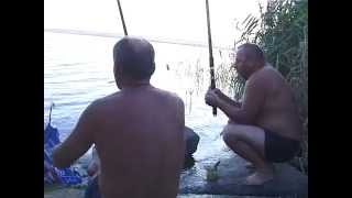 © Ловля бычков в озере Ялпуг // Fishing in the lake Yalpug.