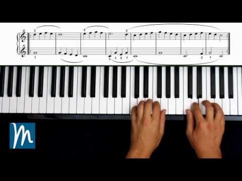 Ejercicios 12, 13, 14 y 15 - Método Beyer Piano - Música para Todos ®