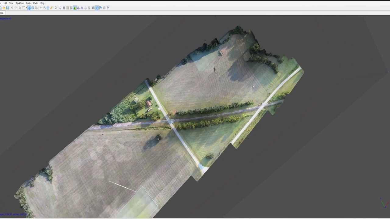 3D Mapping -- Fun with DJI Ground Station Pro and Mavic Pro -- Agisoft  Photoscan
